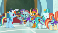 Lighthoof and Shimmy quit cheer squad S9E15