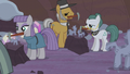 Maud, Igneous, and Cloudy making Hearth's Warming dolls S5E20.png