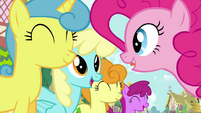 Pinkie Pie's song pony crowd 5 S2E18