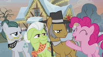 Pinkie declares Granny, Igneous, and Cloudy team three S5E20