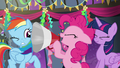 Pinkie shouting through a megaphone S6E7.png