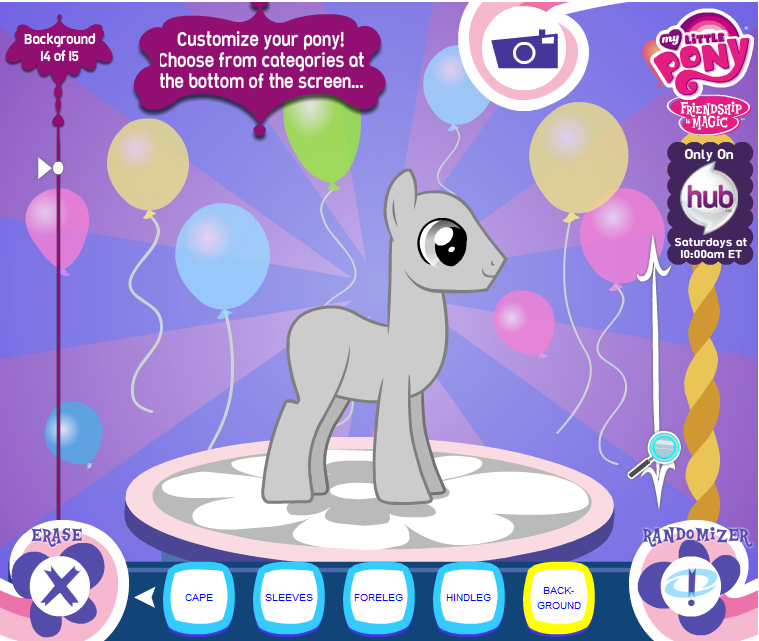 image ponymaker default png my little pony friendship is magic