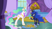 "Princess Luna ""wait right here!"" S9E13"