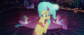 Princess Skystar pleading with her mother MLPTM