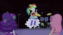 "Rainbow Dash ""set up the stage"" EG4"