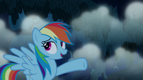 "Rainbow Dash ""you're too easy"" S6E15"