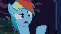 Rainbow Dash --you can't just go around-- S6E15
