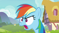 Rainbow Dash -don't even get me started- S8E17