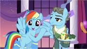Rainbow emocionada por haberlo conocido