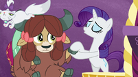 """Rarity singing """"don't you worry"""" S9E7"""