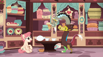 Raspberry Vinaigrette -that's all teapots are supposed to do- S7E12