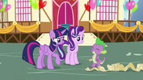 Spike full of confidence S7E15