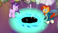 Starlight and Sunburst create a black hole S7E1