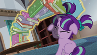 Sunburst stops books from falling on Starlight S6E1