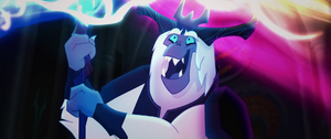 The Storm King gleefully draining magic MLPTM