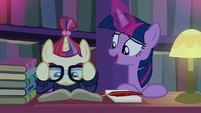 "Twilight ""'cause we're friends"" S5E12"