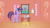 Twilight Sparkle Getting Ready S1E11