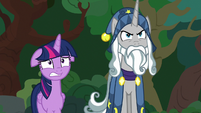 Twilight Sparkle worried; Star Swirl determined S7E26