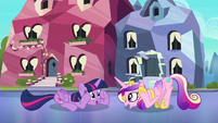 "Twilight and Cadance ""ladybugs awake"" S6E16"