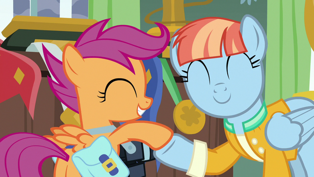 File:Windy Whistles and Scootaloo hoof-bump S7E7.png