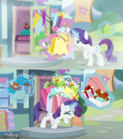 With and without Spike, S9E19