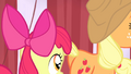 AJ and Apple Bloom leaving S4E20.png