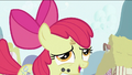 Apple Bloom after swallowing the flower S2E06.png