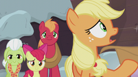Applejack -what I should've done was learn about yours- S5E20