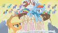 Applejack and Rainbow Dash arguing S1E11.png