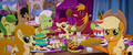 Applejack and family at the festival banquet MLPTM.png