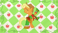 Applejack kicking her legs S1E14.png