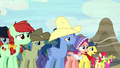 Appleloosa ponies in distress S5E6.png
