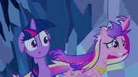 Cadance runs past Twilight S2E26