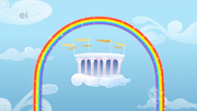 Cloudsdale and the rainbow