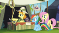Daring Do collector pointing off-screen S4E22.png