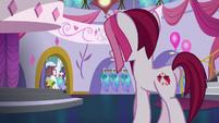 Fashionable Pony enters Canterlot Carousel S5E14