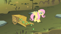 Fluttershy setting some frogs go S1E15.png