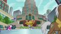 Maud and Rarity on the ice skating rink S6E3.png