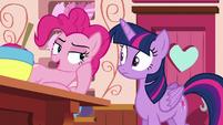 """Pinkie Pie """"you should talk to Applejack"""" S6E22"""