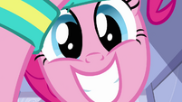 Pinkie Pie looking happy S1E18