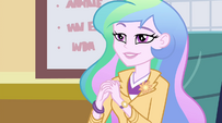 "Principal Celestia ""the name of their musical group"" EG2"