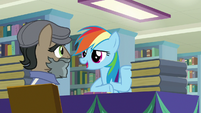 "Rainbow Dash ""just like in Somnambula!"" S9E21"