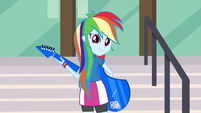 "Rainbow Dash ""not exactly"" EG3"