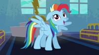 Rainbow Dash --I'm always excited!-- S6E7
