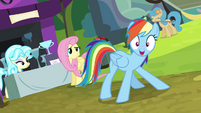 Rainbow Dash double-take -wait!- S4E22