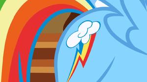 Rainbow Dash mostra a sua bela marca T1E23