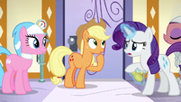 Rarity --can't we just start with a hooficure--- S6E10