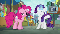 Rarity --she's going to absolutely love it!-- S6E3