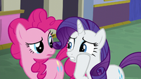 Rarity -it looks like it hasn't even- S6E12