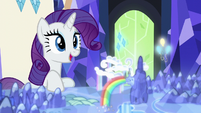 Rarity -perhaps there'll be some social events- S6E12